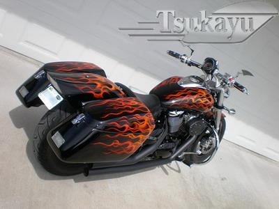 アスモハシル リターンズ: Tsukayuパニアケースを塗装も含めて