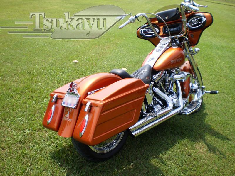 Tsukayu Fairing Hard Saddlebags And Touring Trunk