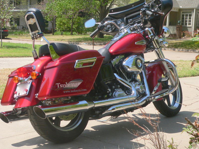 Tsukayu Fairing Hard Saddlebags And Touring Trunk