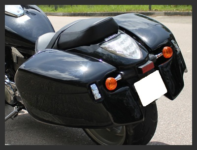 Tsukayu Fairing, Hard Saddlebags and Touring Trunk