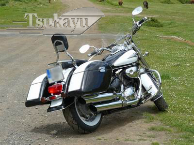 Jumbo Strong Hardbags for Suzuki Intruder Volusia 800