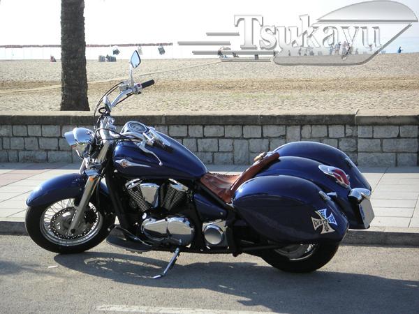 Kawasaki Vulcan 900 Classic Lt Saddlebags 1stmotorxstyleorg