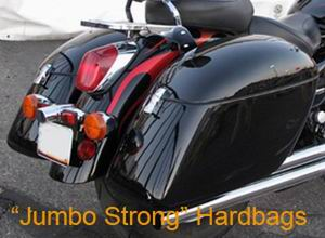 Tsukayu Fairing, Hard Saddlebags and Touring Trunk for