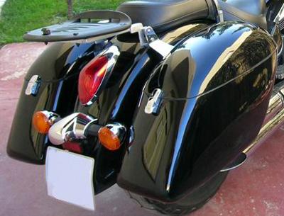 Strong Hardbags For Harley Davidson Honda Yamaha Kawasaki Suzuki